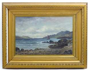 A. Huntley, Early 20th century, Scottish School, Oil on