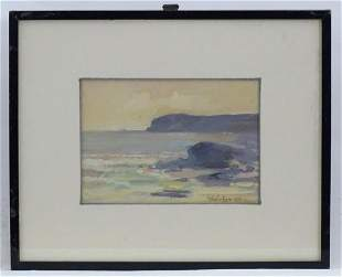 Indistinctly signed Wilson ?, 19th century, Watercolour