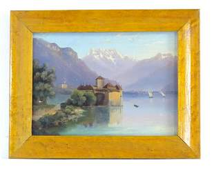 Early 20th century, Continental School, Oil on card,