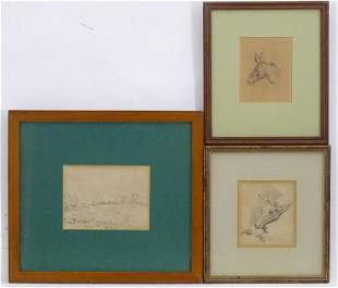 Denby Sweeting (1936-2020), Pencil on paper, A