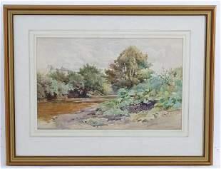 Arthur Wilde Parsons (1854-1931), Watercolour, A