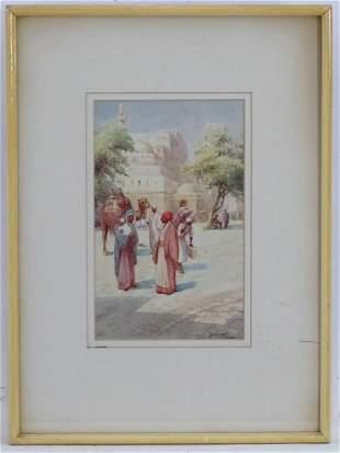 Henri Auguste Jaubert (1860-1936), French School,