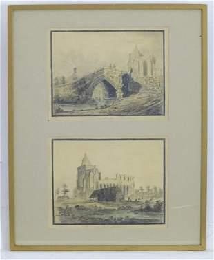 Early 19th century, English School, Pencil, watercolour