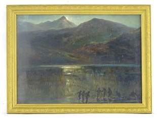 Indistinctly signed Lachlan, 19th century, Scottish