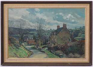 Peter Lockwood, 20th century, Oil on canvas board, A
