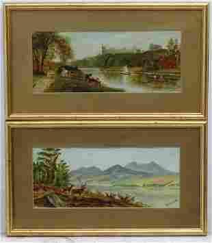 W. Love, Early 20th century, Scottish School, Oil on