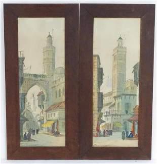 Paul Braddon (1864-1938), English School, Watercolours,