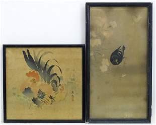 Oriental School, 20th century, Hand coloured prints, A