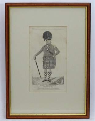 John Kay (1742-1826), 19th century, Etching, A portrait