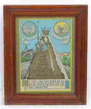 Continental School, 20th century, Colour print, Madonna