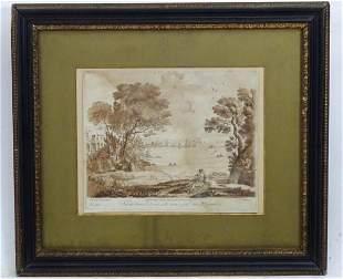 Richard Earlom (1743-1822), after Claude Lorrain