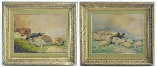 After Thomas Sidney Cooper (1803-1902), A pair of