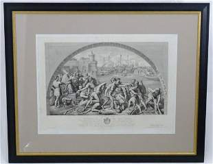 After Raphael (1483-1520), Engraving, circa 1870 by