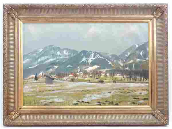Constance Fenn, 20th century, Continental School, Oil
