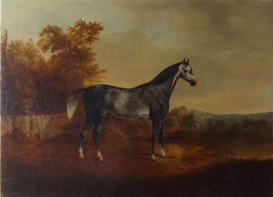 5: John Boultbee (1753-1812) Oil on canvas Dapple Grey