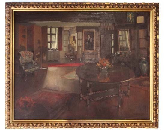 "16: Theresa Norah Copnall (1882-1972) Oil on canvas ""Hi"