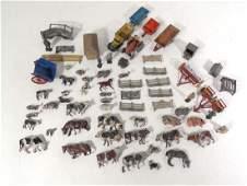 279: Diecast : A quantity of mid 20thC farm machinery m