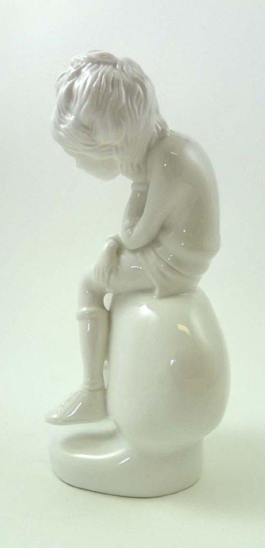 365: A Spode porcelain white glazed figurine by Pauline