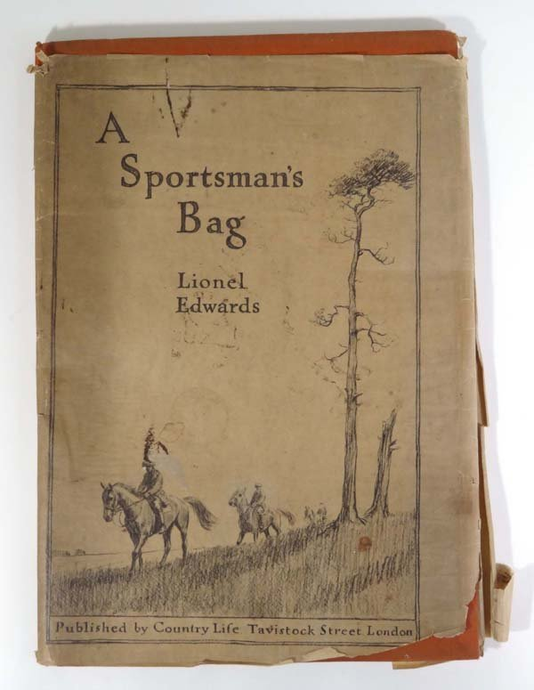 21: Book : Lionel Edwards A Sportsman's Bag number with