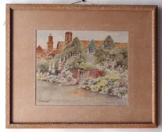 14: Howard Ormsby Thomas  (1908-1971) Watercolour An En