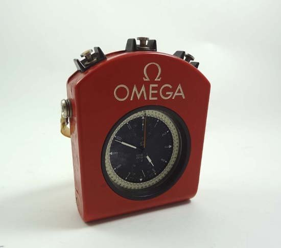 227: Omega : an Olympic Rattrapante Chronograph oversiz