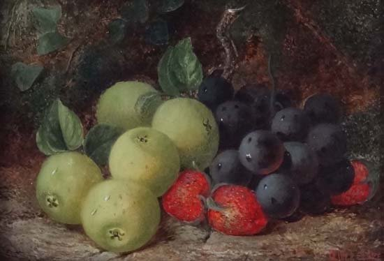 24: Oliver Clare (1853-1927) Oil on canvas Still life o