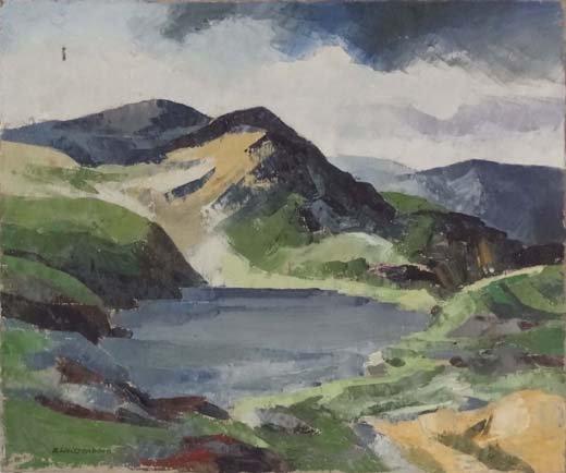 5: Helmut Weissenborn (1898-1982) Oil on canvas A Mount