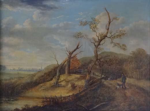 8: Carl Le Brun (attributed) XVIII-XIX Flemish School O