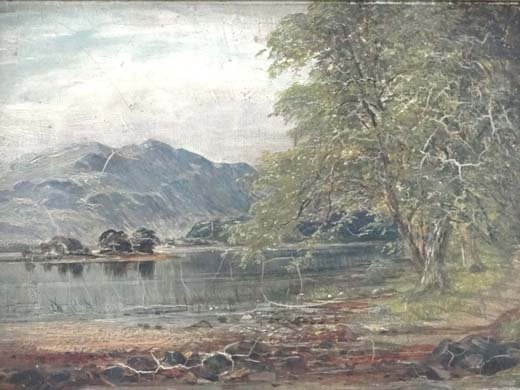 11: James Docharty (1829-1878) British Oil on canvas 'A