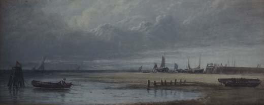12: George Weathrill (1810-1890) Attributed  Oil on boa