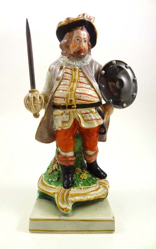 365: An early 19thC pearlware Staffordshire figure by W