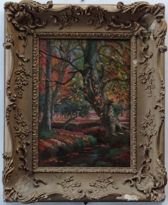 7: Evelyn Mary Watherston (? - 1952) Oil on panel ' Aut