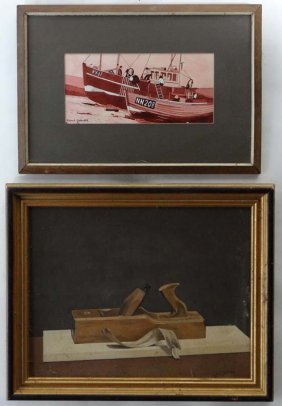 10: Robert G. Galbraith XX Two paintings, a watercolour