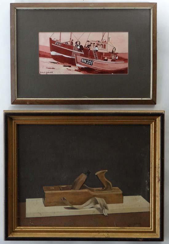 10: Robert G. Galbraith XX Two paintings, a watercolour