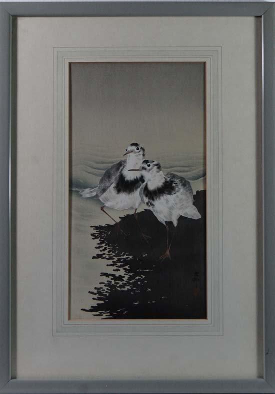 Ohara Shoson (1877 - 1945) Japanese School Print Japane