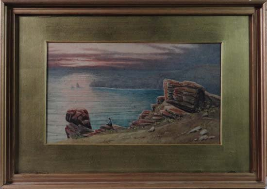 Manner of A Dunnington c. 1900 Watercolour Watching a s