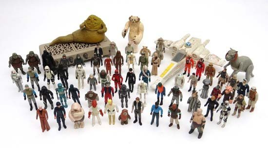 A large quantity of c1970s and later Star Wars action f