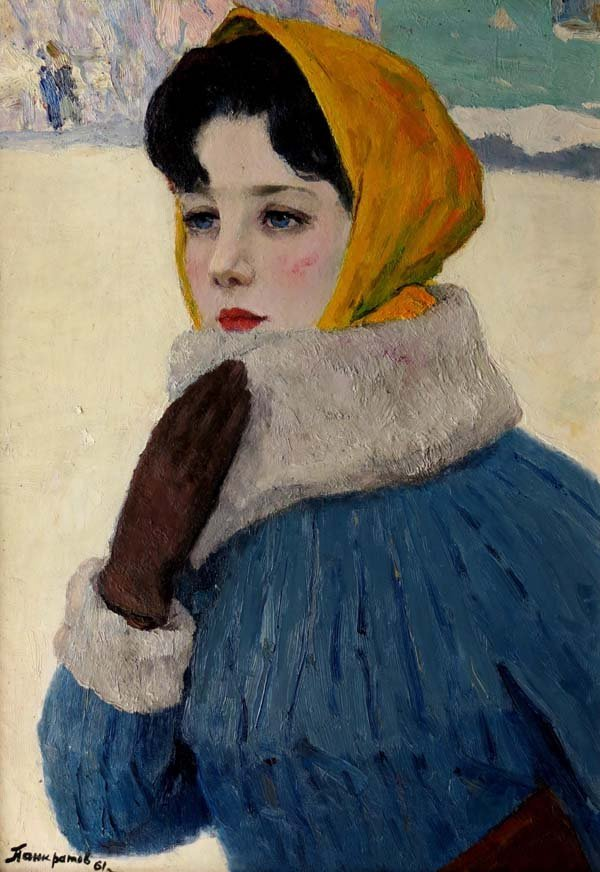 Alekscevitch Youri Pankratov (1925-1970), Russian Schoo
