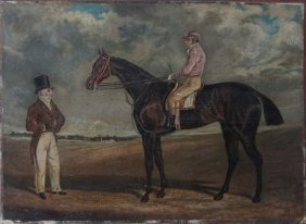 Circle of John Frederick Herring Senior (1795-1865) Oil