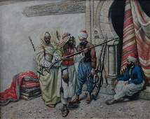 Indistinctly signed (XIX) Continental / Orientalist Sch