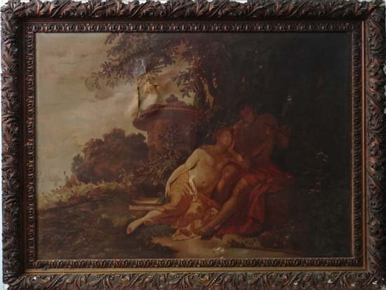 After Rubens XIX Oil on canvas Large image of classical
