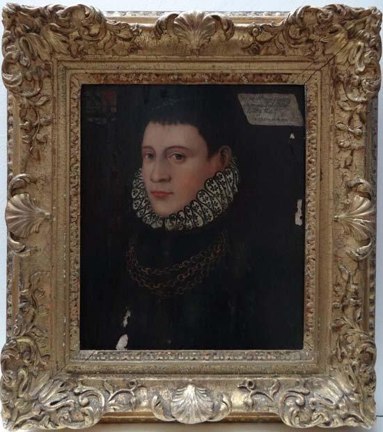 Stowe House Ducal Collection Tudor portrait circa 1513
