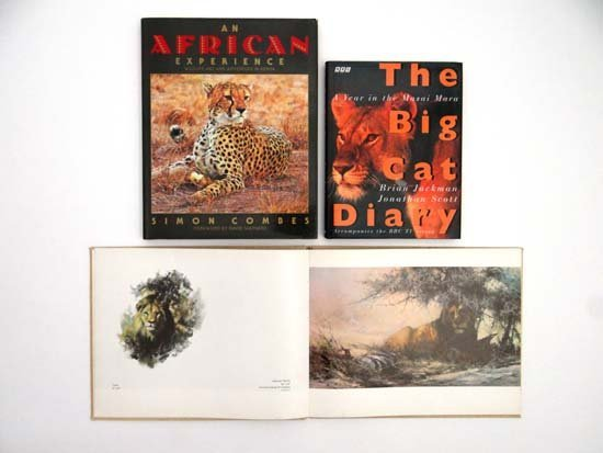 Books : David Shepherd An Artist in Africa published by