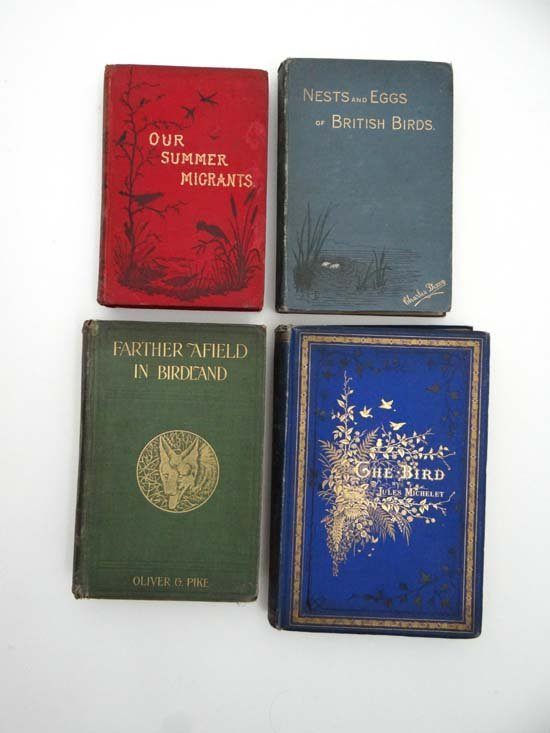 Books : Four books on birds including Jules Michelet Th