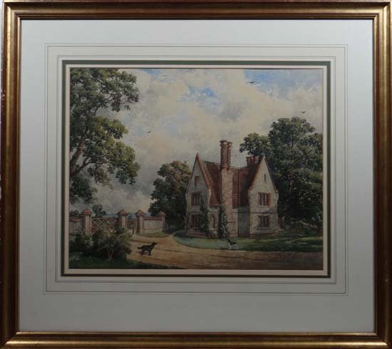Edward ?????? 1860 English School Watercolour English N
