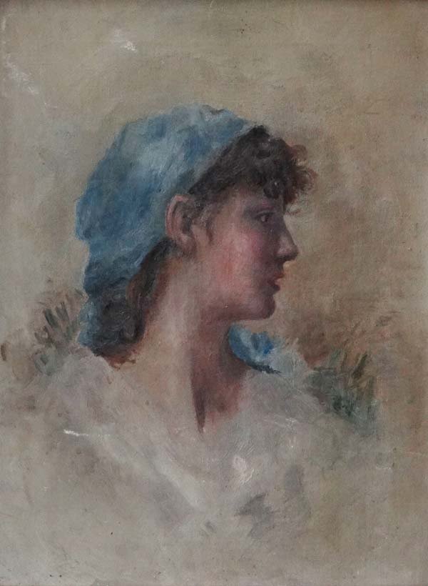 Manner of Angelo Asti Early ( XX ) Impressionist style