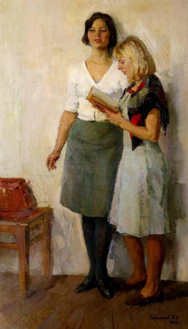 Valentin Sergeevitch Chekmasov (b.1940), Russian School