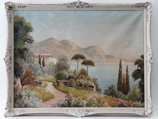 Ginelli ( mid XX) Neopolitan School Oil on canvas '