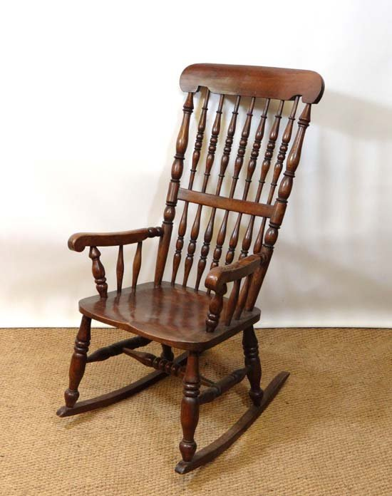 North East Midlands, Lincolnshire : A ' Caistor ' chair