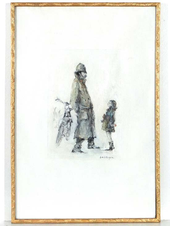 DMC Cooper XX Handtouched Giclee print A policeman and